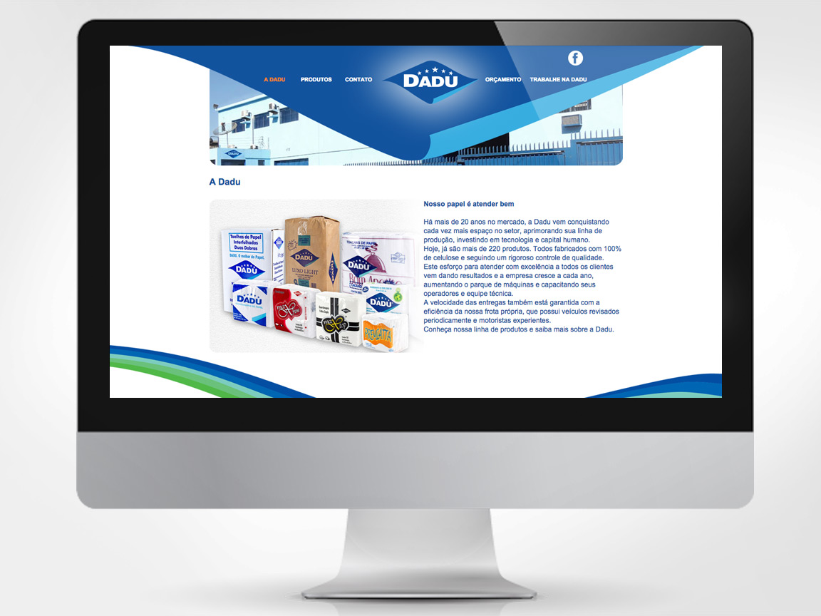 Website e sistema de pedidos on-line